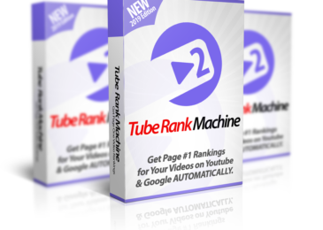 Tube Rank Machine 2.0 Review and Massive Bonuses +OTO Info -RANK videos to the TOP of Google and Youtube