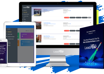 Leadflow360 Review +Massive $6K Leadflow360 BONUS +OTO Info -Tap Into 80 Million Small Business Leads