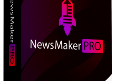 NewsMaker PRO Review +Massive NewsMaker PRO Bonus +Discount +OTO Info -Build And Run Your Very Own NEWS Site