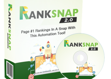 Ranksnap 2.0 Review +Massive Ranksnap 2.0 Bonus +Discount +OTO Info -Get Page 1 Ranking Without Knowing SEO