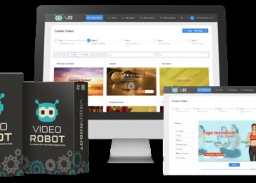 VideoRobot Review +Massive $12K Video Robot Bonus +Discount -Make STUNNING Videos In Any Language or Niche
