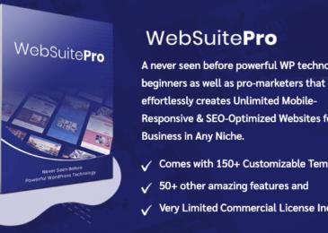 WebSuitePro Review +Huge $5K Bonuses +Discount+ OTO Info -Create & Sell Stunning Websites