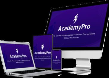 AcademyPro Review +Huge $24K AcademyPro Bonus +Discount +OTO Info -All-In-One Pro Academy Site Builder
