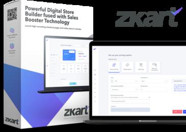 ZKart Review +Massive ZKart Bonus +Discount +OTO Info -Your very own cart platform