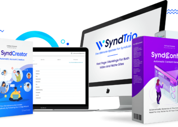 SyndTrio Review +Huge $24K SyndTrio Bonus +Discount +OTO Info -Proven 3 in 1 Page One Ranking System