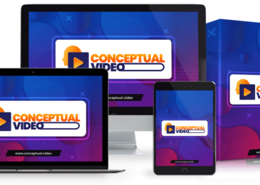 Conceptual Video Suite Review +Huge $24K Conceptual Video Suite Bonus +Discount +OTO Info – Create Unlimited Ultra-Engaging Videos In ANY Niche