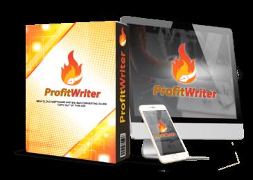 ProfitWriter Review +Huge $24K ProfitWriter Bonus +Discount +OTO Info -Create Unique Contents For Any Niche