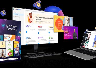 DesignBeast Review +Design Beast Huge $24K Bonus +Discount +OTO Info – 6-in-1 Animation & Designs Maker App