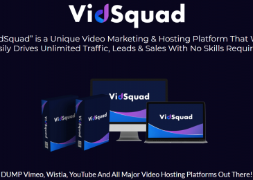 VidSquad Review +Huge $24K VidSquad Bonus +Discount +OTO Info – Done-For-You VIDEO Platform With Commercial License