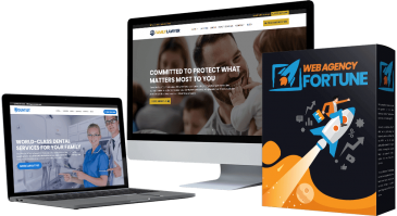 Web Agency Fortune Review + Huge $24K Bonus +Discount +OTO Info – 12 Stunning DFY Website Templates With Commercial License For ONE Low Price